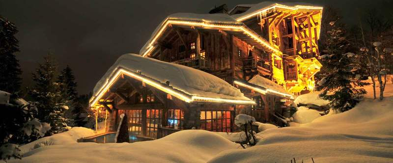The enormous Chalet Philippe boasts no fewer than 11 bedrooms