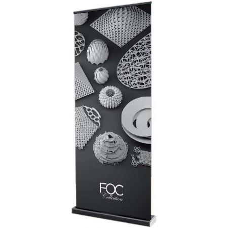 Un stand parapluie design, disponible sur www.impression-rollup.fr