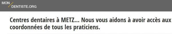 Mon-dentiste.org est un outil efficace pour trouver rapidement un dentiste à Metz